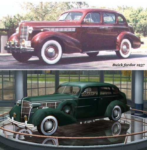 Buick fordor 1937