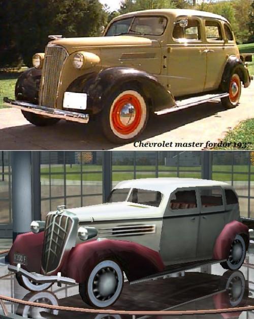 Chevrolet master fordor 1937