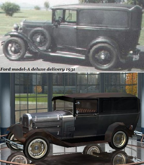 Ford model-A deluxe delivery 1931