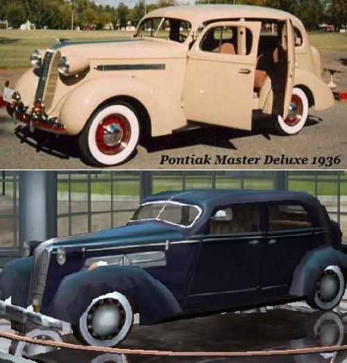 Pontiak Master Deluxe 1936