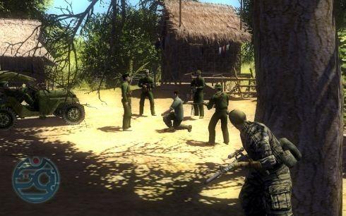 Порой в миссиях придется сражаться всего лишь одним-двумя солдатами. Вот он — размах «Диверсантов».