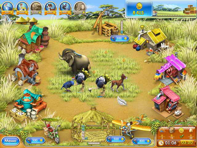 Играть мини ферма