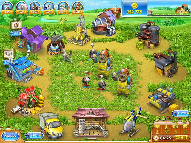 Веселая ферма онлайн игра ключ