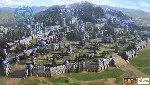 Непонятно, то ли это тот самый замок игрока, то ли база, которую и надо разрушить.