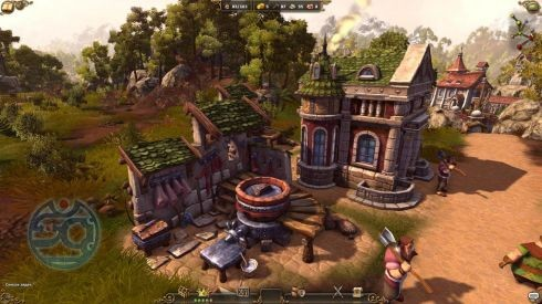 Обзор игры Settlers 7: Paths to a Kingdom, The