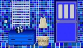 Прохождение игры Escape Blue Bathroom