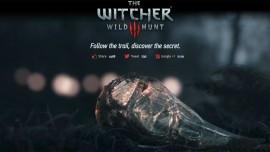 На вебсайте The Witcher 3 происходит что-то мистическое